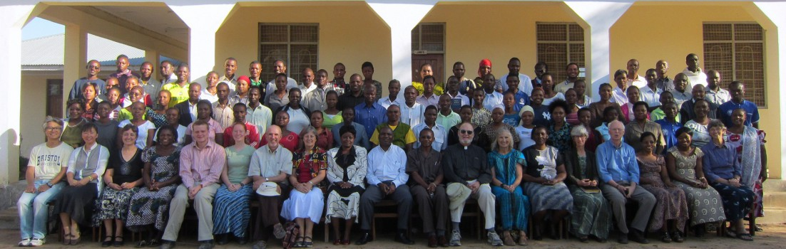 The students and staff of Msalato Theological College.